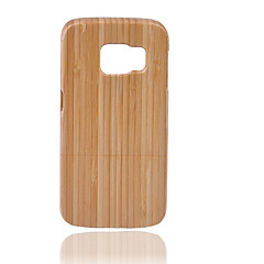 Для Other Кейс для Задняя крышка Кейс для Один цвет Твердый Бамбук для Samsung Note 5 / Note 4