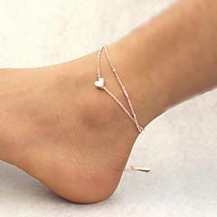 Kadın Ayak bileziği/Bilezikler alaşım kostüm takısı Mücevher Uyumluluk Günlük