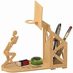 Puzzles Holzpuzzle Bausteine DIY Spielzeug sphärisch 1 Holz Elfenbein Model & Building Toy