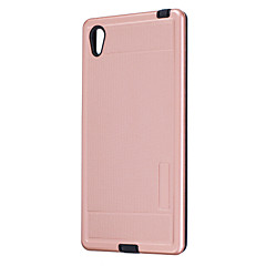 For Plating Case Back Cover Case Solid Color Hard PC for Sony Xperia Z5  Sony Xperia Z3 Sony Xperia M4 Aqua  Sony Xperia M2