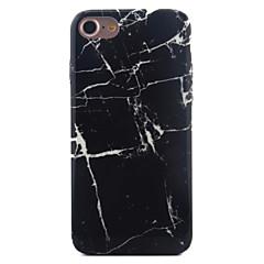 Недорогие Кейсы для iPhone 6 Plus-Кейс для Назначение Apple iPhone X iPhone 8 iPhone 6 iPhone 7 Plus iPhone 7 С узором Кейс на заднюю панель Мрамор Мягкий ТПУ для iPhone X