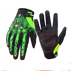 Sports Gloves Touch Gloves Keep Warm Waterproof Wearable Wearproof Anti-skidding Protective Limits Bacteria Full-finger Gloves Spandex