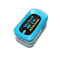Недорогие Забота о здоровье-Ying Shi Импульсные палец оксиметрах ручной ЖК-дисплей с аккумуляторной батареей голос / память белый / красный / зеленый / синий / оранжевый