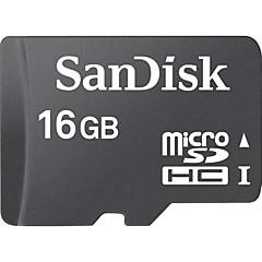 お買い得  メモリカード-SanDisk 16GB SDカードサポート メモリカード CLASS4