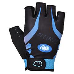 Χαμηλού Κόστους -FJQXZ Γάντια για Δραστηριότητες/ Αθλήματα Φοριέται Αναπνέει Αντιολισθητική Χωρίς Δάχτυλα Σφουγγάρι Ποδηλασία / Ποδήλατο Σε κατηφόρα