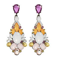 preiswerte Ohrringe-Damen Tropfen-Ohrringe - Blume Erklärung, Modisch Orange / Blau / Elfenbein Für Hochzeit