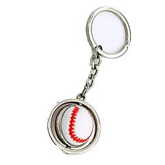 Key Chain Toys Baseball Metal Pieces Boys' Girls' Gift