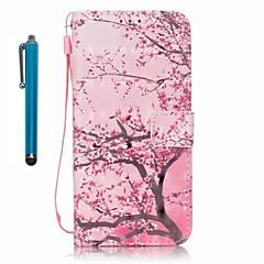 halpa Galaxy A5 kotelot / kuoret-Etui Käyttötarkoitus Samsung Galaxy A5(2016) A3(2016) Lomapkko Korttikotelo Tuella Kokonaan peittävä Puu Kova PU-nahka varten A5(2016)