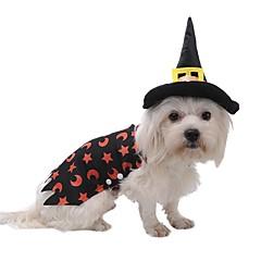 Kissat Koirat Asut Takit Hupparit Koiran vaatteet Talvi Luonteet Söpö Muoti Cosplay Pidä Lämmin Halloween Joulu Musta