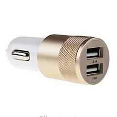 Недорогие Автоэлектроника-Автомобильное зарядное устройство Зарядное устройство USB Универсальный 2 USB порта 2.1 A для