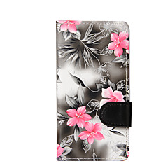For LG K10 K8 Mini Flowers PU Leather Case for LG K4 LG G3 Cases / Covers for LG