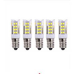preiswerte LED-Birnen-5 Stück 5W 2700-3000/6000-6500lm E14 LED Mais-Birnen T 51 LED-Perlen SMD 2835 Warmes Weiß Kühles Weiß 220V
