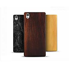 お買い得  その他のケース-ケース 用途 OnePlus OnePlusケース パターン バックカバー 木目 ハード PC のために