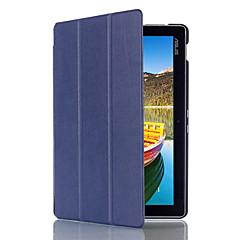 お買い得  タブレット用ケース-ケース 用途 Asus フルボディーケース タブレットケース 純色 ハード PUレザー のために