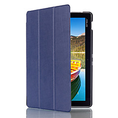 preiswerte Tablet-Hüllen-Hülle Für Asus Ganzkörper-Gehäuse Tablet-Hüllen Volltonfarbe Hart PU-Leder für