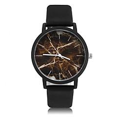 preiswerte Tolle Angebote auf Uhren-Damen Quartz Armbanduhr Cool PU Band Retro / Freizeit / Modisch Schwarz