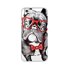 Для Кейс для iPhone 6 / Кейс для iPhone 6 Plus Ультратонкий / С узором Кейс для Задняя крышка Кейс для С собакой Мягкий TPUiPhone 6s