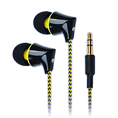 semleges termék GS-A340 Hallójárati fülhallgatók (in-ear)ForMédialejátszó/tablet / Mobiltelefon / SzámítógépWithDJ / FM Rádió / Játszás /