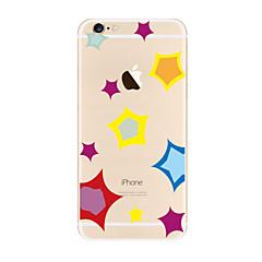 Кейс для Назначение Apple iPhone X iPhone 8 Plus iPhone 7 iPhone 6 Кейс для iPhone 5 Прозрачный С узором Задняя крышка Геометрический
