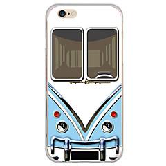 Недорогие Кейсы для iPhone X-Кейс для Назначение Apple iPhone X iPhone 8 Кейс для iPhone 5 iPhone 6 iPhone 7 Ультратонкий Полупрозрачный Кейс на заднюю панель