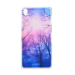 For SONY Xperia Z5 Z3 Case Cover Tree Pattern Back Cover Soft TPU
