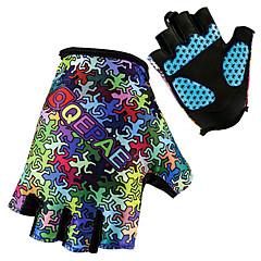 Γάντια για Δραστηριότητες/ Αθλήματα Γιούνισεξ Γάντια ποδηλασίας Άνοιξη Καλοκαίρι Γάντια ποδηλασίαςΓρήγορο Στέγνωμα Ανατομικός Σχεδιασμός