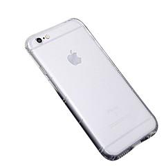 Назначение iPhone X iPhone 8 iPhone 8 Plus iPhone 6 iPhone 6 Plus Чехлы панели Ультратонкий Прозрачный Задняя крышка Кейс для Сплошной
