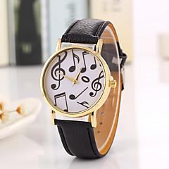 preiswerte Damenuhren-Damen Armbanduhr Armbanduhren für den Alltag / Cool PU Band Retro / Freizeit / Modisch Schwarz / Ein Jahr / Tianqiu 377