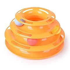 Kot Zabawka dla kota Zabawki dla zwierząt Owalne Interaktywne Tor z piłeczkami Dla zwierząt domowych