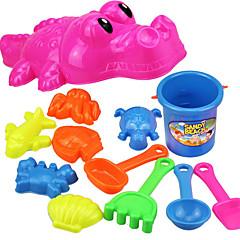 Παιχνίδια ρόλων Παιχνίδι για παραλία και άμμο Beach Toys Παιχνίδια Ψάρια Κροκοδιλέ Νεωτερισμός Αγορίστικα Κοριτσίστικα 12 Κομμάτια