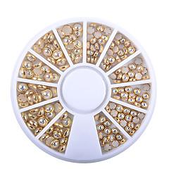 voordelige -1pcs Nagelkunst decoratie Strass parels make-up Cosmetische Nagelkunst ontwerp