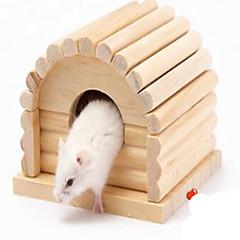 Недорогие Аксессуары для мелких животных-Вольеры Дерево
