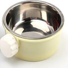 billige Tilbehør til smådyr-Gnavere Metal Skåle & Vandflasker Gul Blå Lys pink