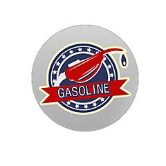 hesapli -Benzin Desen Dekoratif Araç plakası