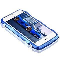Недорогие Кейсы для iPhone 7-Кейс для Назначение Apple iPhone 6 iPhone 7 Plus iPhone 7 Защита от удара Кейс на заднюю панель Полосы / волосы Твердый Углеродное волокно