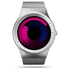 お買い得  大特価腕時計-SINOBI 男性用 クォーツ ユニークなクリエイティブウォッチ リストウォッチ スポーツウォッチ 耐水 耐衝撃性 ステンレス バンド ぜいたく カジュアル ブラック