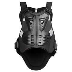 Χαμηλού Κόστους -μοτοσικλέτες motocross wosawe στήθος προστάτης πανοπλία γιλέκο αγωνιστικά προστατευτικό σώμα-φύλακας φύλακες πανοπλία pe αγώνα πίσω