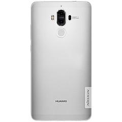 Недорогие Чехлы и кейсы для Huawei Mate-Кейс для Назначение Huawei Ультратонкий Прозрачный Кейс на заднюю панель Сплошной цвет Мягкий ТПУ для Honor 6X Mate 9 Mate 9 Pro Huawei