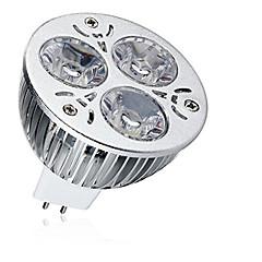 お買い得  LED 電球-1個 9W 600-700lm MR16 LEDスポットライト 3 LEDビーズ ハイパワーLED 装飾用 温白色 クールホワイト 12V