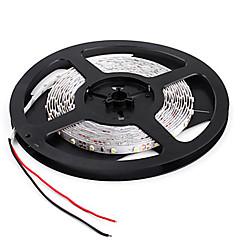 お買い得  LED ストリングライト-5m フレキシブルLEDライトストリップ 300 LED 2835 SMD 温白色 / ホワイト / レッド リモートコントロール / カット可能 / 調光可能 12 V / # / 接続可 / 車に最適 / ノンテープ・タイプ