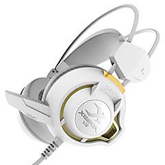 xiberia v3 tärinä pelaamista kuulokkeet yli korvan led stereokuulokkeet pc gamer tietokone Super basso hehku kuulokkeet mikrofonilla