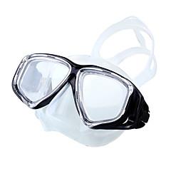 Χαμηλού Κόστους -Μάσκες Κατάδυσης Goggles Πισίνα Μάσκα κολύμβησης Κατά της ομίχλης Ρυθμιζόμενο Προστασία UV Αδιάβροχη 180 Μοίρες Καταδύσεις & Κολύμπι με