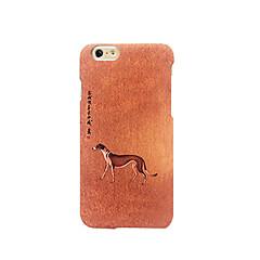 Для Матовое Рельефный С узором Кейс для Задняя крышка Кейс для С собакой Твердый PC для AppleiPhone 7 Plus iPhone 7 iPhone 6s Plus/6 Plus