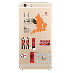 Na Przezroczyste Wzór Kılıf Etui na tył Kılıf Widok miasta Miękkie TPU na AppleiPhone 7 Plus iPhone 7 iPhone 6s Plus iPhone 6 Plus iPhone