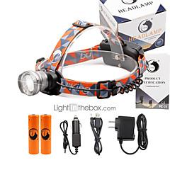 お買い得  ヘッドランプ-2000 lm ヘッドランプ LED 3 モード - U'King ズーム可能 / 焦点調整可 / 小型