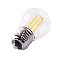 preiswerte LED-Birnen-360 lm E27 LED Glühlampen G45 4 LED-Perlen COB Abblendbar / Dekorativ Warmes Weiß / Kühles Weiß 220-240 V / 1 Stück / RoHs / CCC