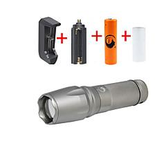 U'King LED taskulamput Taskulamppu-setit LED 2000 lm 5 Tila Cree XM-L T6 Säädettävä fokus Telttailu/Retkely/Luolailu Päivittäiskäyttöön
