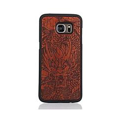 Etui Til Samsung Galaxy S7 edge S7 Mønster Bakdeksel Tegneserie Hard Tre til S7 edge S7