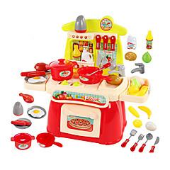 Χαμηλού Κόστους -Συσκευές Μαγειρέματος Kids ' Μοντελισμός & Κατασκευές Παιχνίδια Φωτισμός LED Sunet Παιχνίδια ABS Ασημί Πορτοκαλί Για κορίτσια