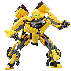 GUDI 로봇 조립식 블럭 장난감 자동차 장난감 장난감 전사 기계 로봇 변형 가능 남아 여아 남자아이 211 조각